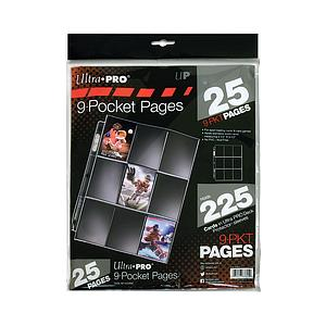 9-Pocket Pages (25 pages)