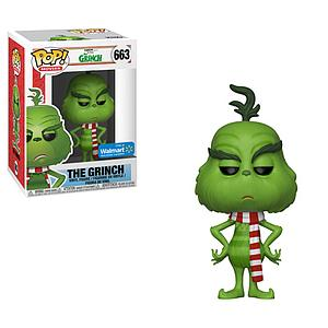 Pop! Movies The Grinch Vinyl Figure The Grinch (Scarf) #663 Walmart Exclusive