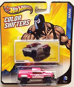 Hot Wheels Batman Color Shifters Cars: Bane Mega Duty