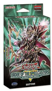 YuGiOh Trading Card Game Structure Deck: Order of the Spellcasters
