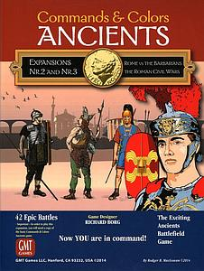 Commands & Colors: Ancients Expansions #2 and #3 - Rome vs The Barbarians and The Roman Civil Wars