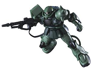 Gundam High Grade Gundam The Origin 1/144 Scale Model Kit: Zaku II Type C-6/R6