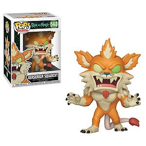 Pop! Animation Rick & Morty Vinyl Figure Berserker Squanchy #568