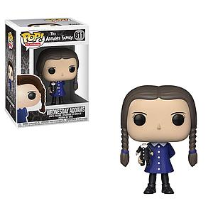 Pop! Television The Addams Family Vinyl Figure Wednesday Addams #811