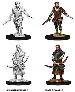 Dungeons & Dragons Nolzur's Marvelous Unpainted Miniatures: Male Human Rogue