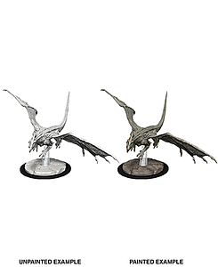 Dungeons & Dragons Nolzur's Marvelous Unpainted Miniatures: Young White Dragon