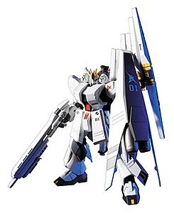 Gundam High Grade Universal Century 1/144 Scale Model Kit: #093 Nu Gundam HWS