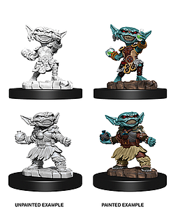 Pathfinder Deep Cuts Unpainted Miniatures: Female Golbin Alchemist