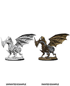 Pathfinder Deep Cuts Unpainted Miniatures: Clockwork Dragon
