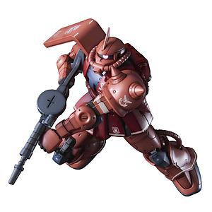 Gundam High Grade Gundam The Origin 1/144 Scale Model Kit: Zaku II Char (Red Comet Version)