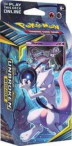 Pokemon Trading Card Game: Sun & Moon (SM10) Unbroken Bonds Theme Deck - Battle Mind (Mewtwo)