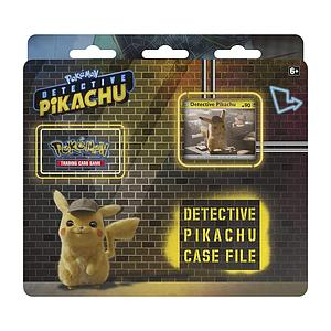 Pokemon Trading Card Game: Detective Pikachu Case File 3-Pack Blister