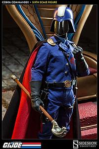 Sideshow Collectibles 1/6 Scale G.I Joe Figure: Cobra Commander