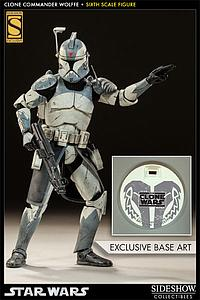 Sideshow Collectibles 1/6 Scale Star Wars Figure: Clone Commander Wolffe