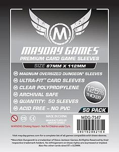Premium Magnum Oversized Dungeon Sleeves (87mm x 112mm)