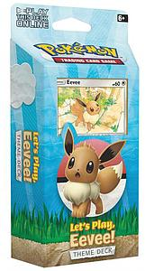 Pokemon Trading Card Game: Theme Deck - Let's Play, Eevee!