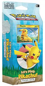 Pokemon Trading Card Game: Theme Deck - Let's Play, Pikachu!