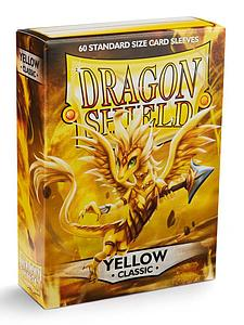Dragon Shield Sleeves Standard Size: Classic Yellow