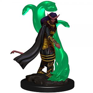Dungeons & Dragons Icons of the Realms Premium Painted Miniatures: Tiefling Sorcerer (Female)