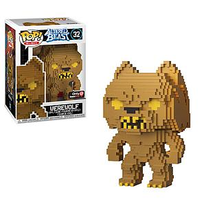 Pop! 8-Bit Altered Beast Vinyl Figure Werewolf (Gold) #32 GameStop Exclusive (EB Games Sticker)