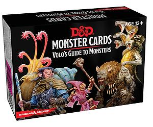 Dungeons & Dragons: Monster Cards - Volo's Guide to Monsters