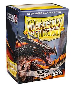 Dragon Shield Sleeves Standard Size: Matte Black