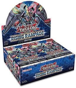YuGiOh Trading Card Game: Rising Rampage Booster Box