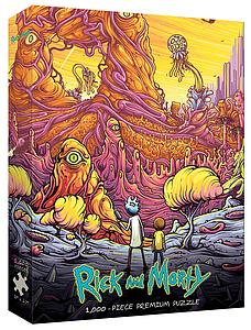 "Puzzle: Rick and Morty ""Into the Rickverse"""