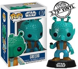 Pop! Star Wars Vinyl Bobble-Head Greedo #07 (Vaulted)