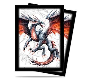 Black Dragon Standard Card Sleeves (66mm x 91mm)