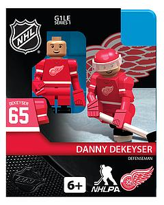 Hockey Minifigures: Danny Dekeyser (Detroit Red Wings)