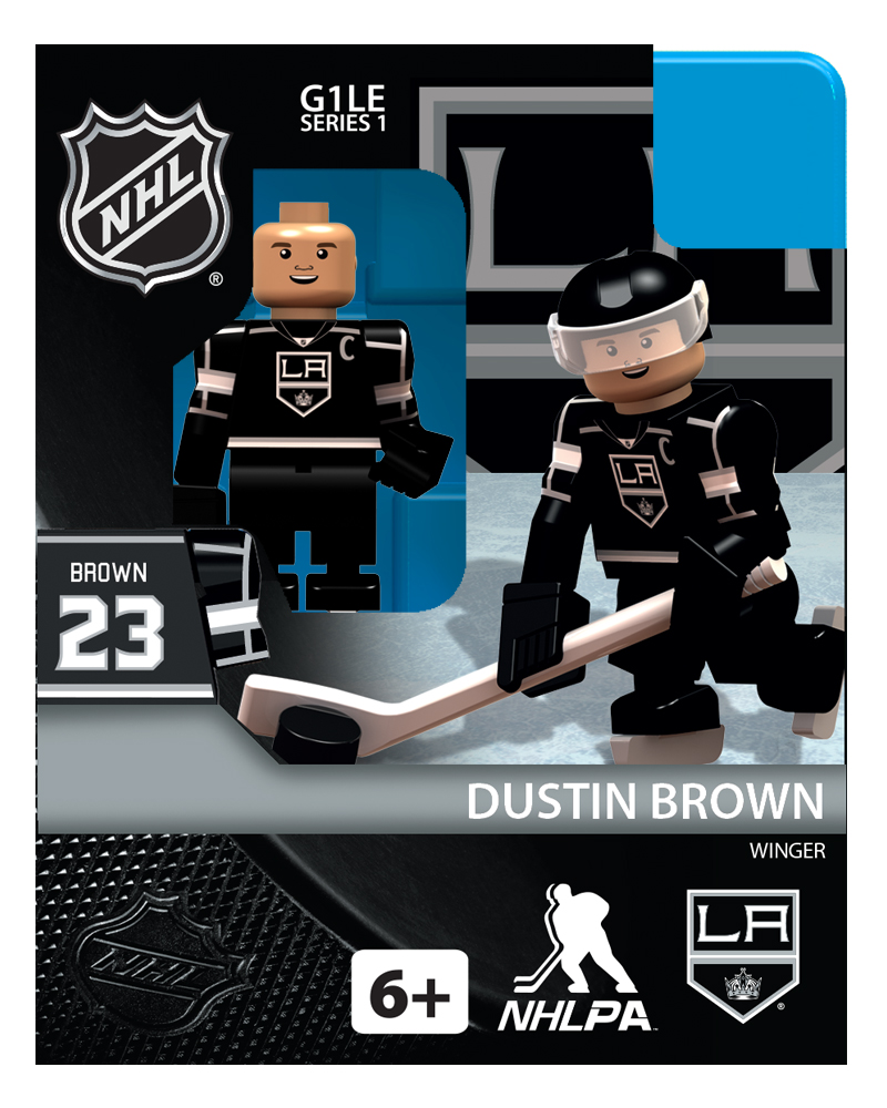 Hockey Minifigures: Dustin Brown (Los Angeles Kings)