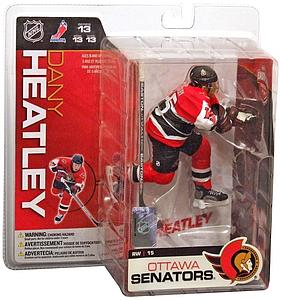 NHL Sportspicks Series 13 Dany Heatley (Ottawa Senators) Red Jersey