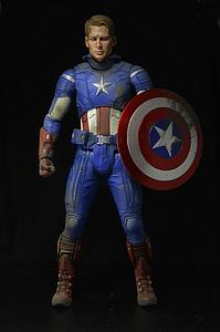 Avengers 1/4 Scale Battle-Damaged Captain America