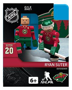 Hockey Minifigures: Ryan Suter (Minnesota Wild)