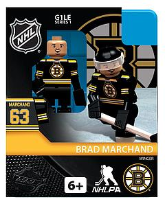 Hockey Minifigures: Brad Marchand (Boston Bruins)