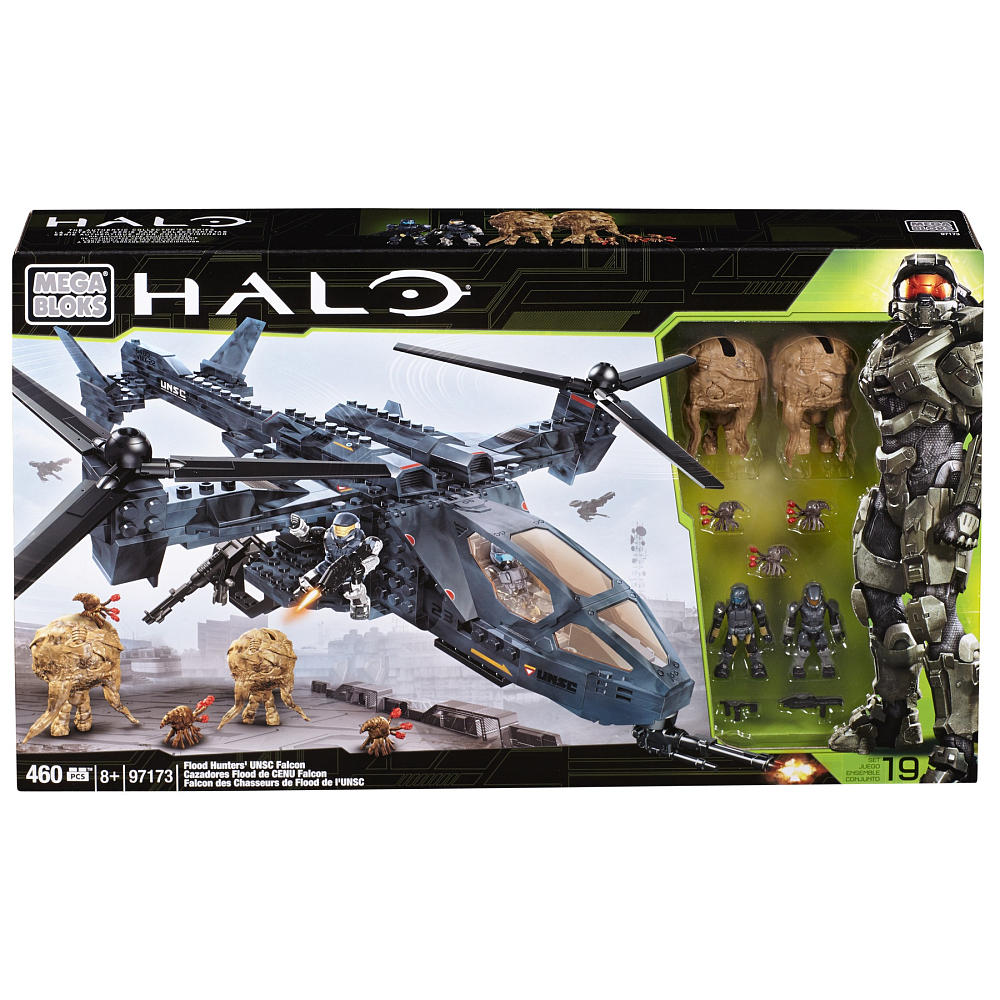Mega Bloks Halo Flood Hunters UNSC: Falcon
