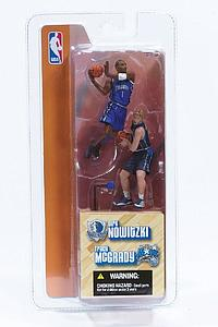 "NBA 3"" 2-Pack Series 1: Dirk Nowitzki & Tracy McGrady"