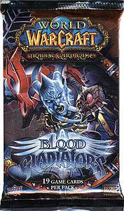 World of Warcraft Trading Card Game Blood of Gladiators: Booster Pack