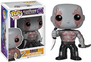 Pop! Marvel Guardians of the Galaxy Vinyl Bobble-Head Drax #50 (Vaulted)