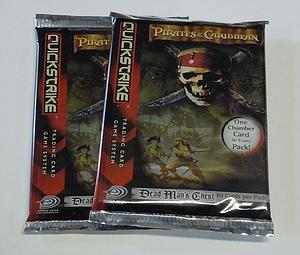 Pirates of the Caribbean Trading Card Game: Booster Pack