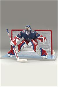 NHL Sportspicks Series 13 Henrik Lundqvist (New York Rangers) Blue Jersey