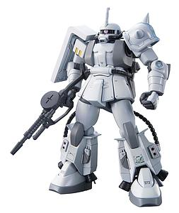 Gundam High Grade Universal Century 1/144 Scale Model Kit: #154 MS-06R-1A Zaku II