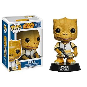 Pop! Star Wars Vinyl Bobble-Head Bossk #35 (Vaulted)