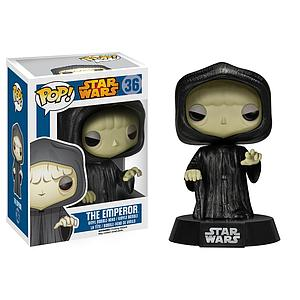 Pop! Star Wars Vinyl Bobble-Head The Emperor #36 (Vaulted)
