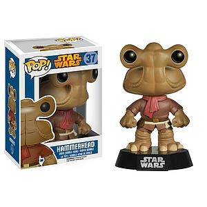 Pop! Star Wars Vinyl Bobble-Head Hammerhead #37 (Vaulted)