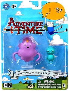 "Adventure Time 3"" 2-Pack: Lumpy Princess & Brad"