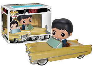 Pop! Rides Movies Scarface Vinyl Figure Tony's Convertible #03 (Vaulted)