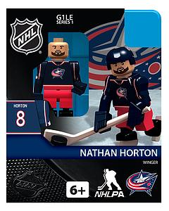 Hockey Minifigures: Nathan Horton (Columbus Blue Jackets)