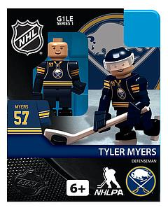 Hockey Minifigures: Tyler Myers (Buffalo Sabres)